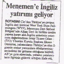 Basin - Gazete Ege - 6 Nisan 2005