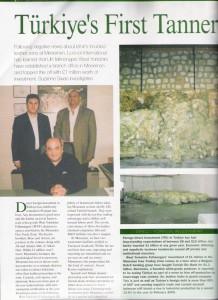 Basin - LeatherMagazine 01 - Haziran 2005